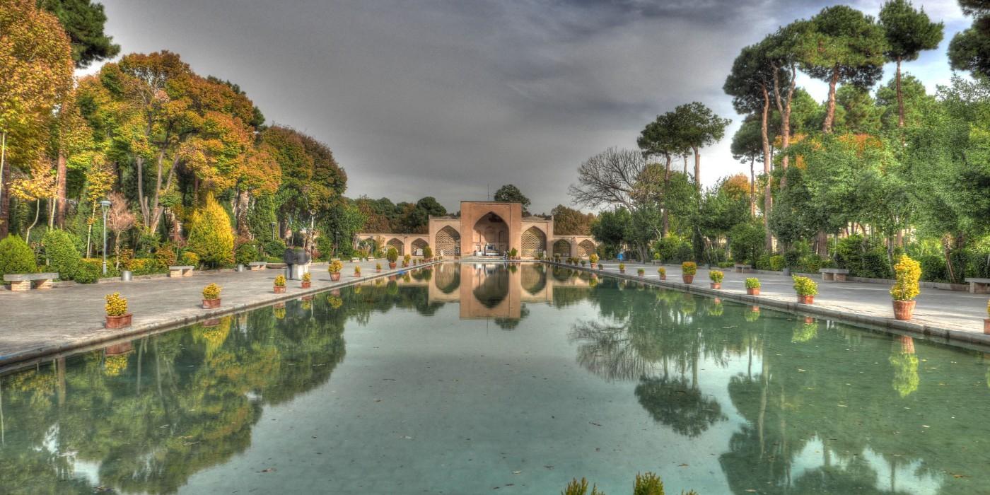 Palast im Iran