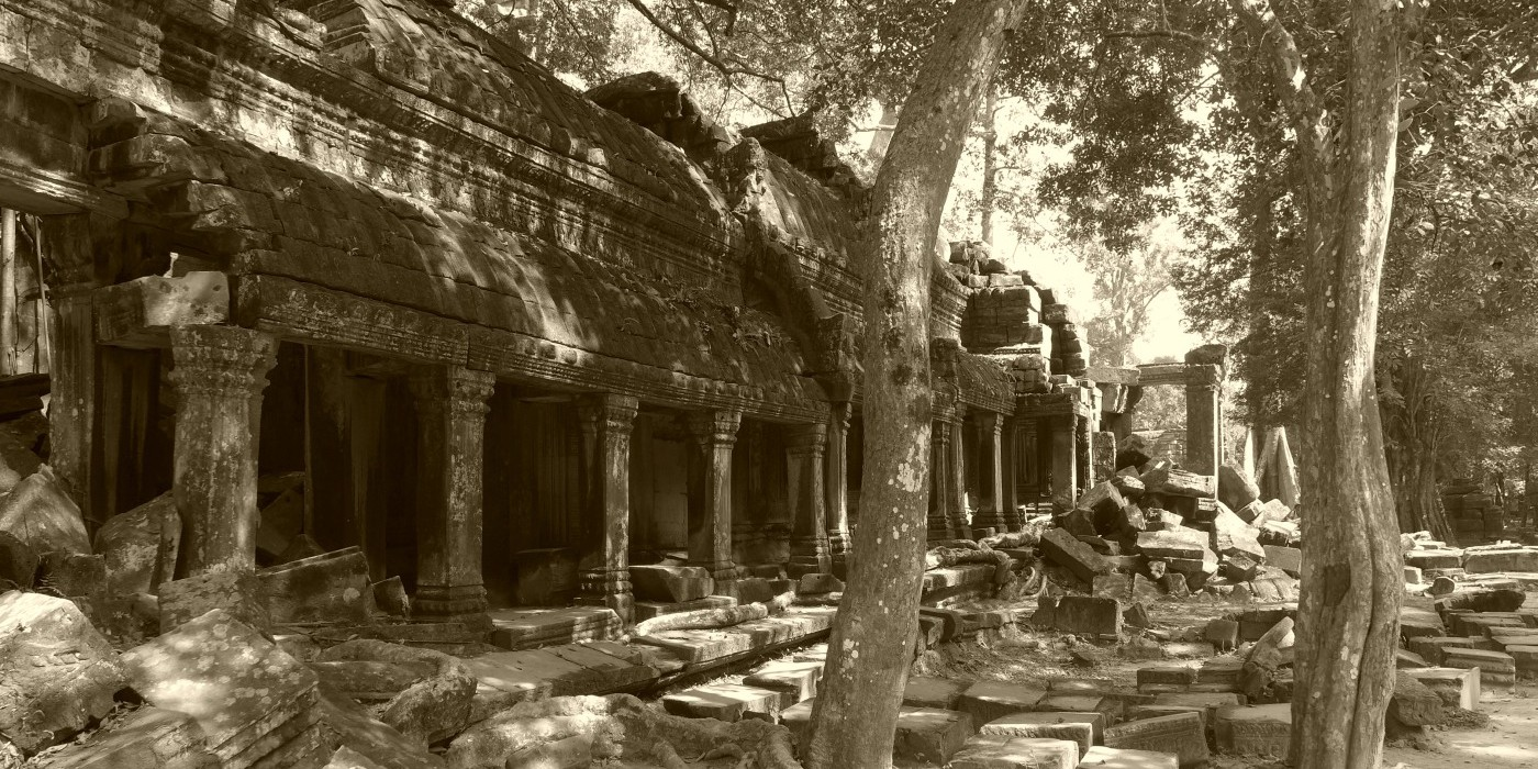 Ta Prohm in Kambodscha